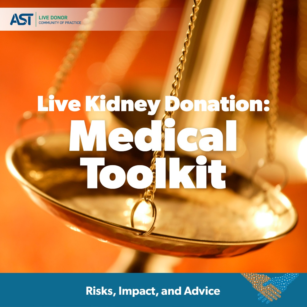 Live Donor Toolkit | American Society of Transplantation